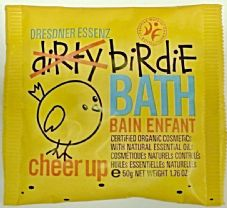 Cheer Up Yellow - Dirtie Birdie Organic Bath Salts - Sachet 50g